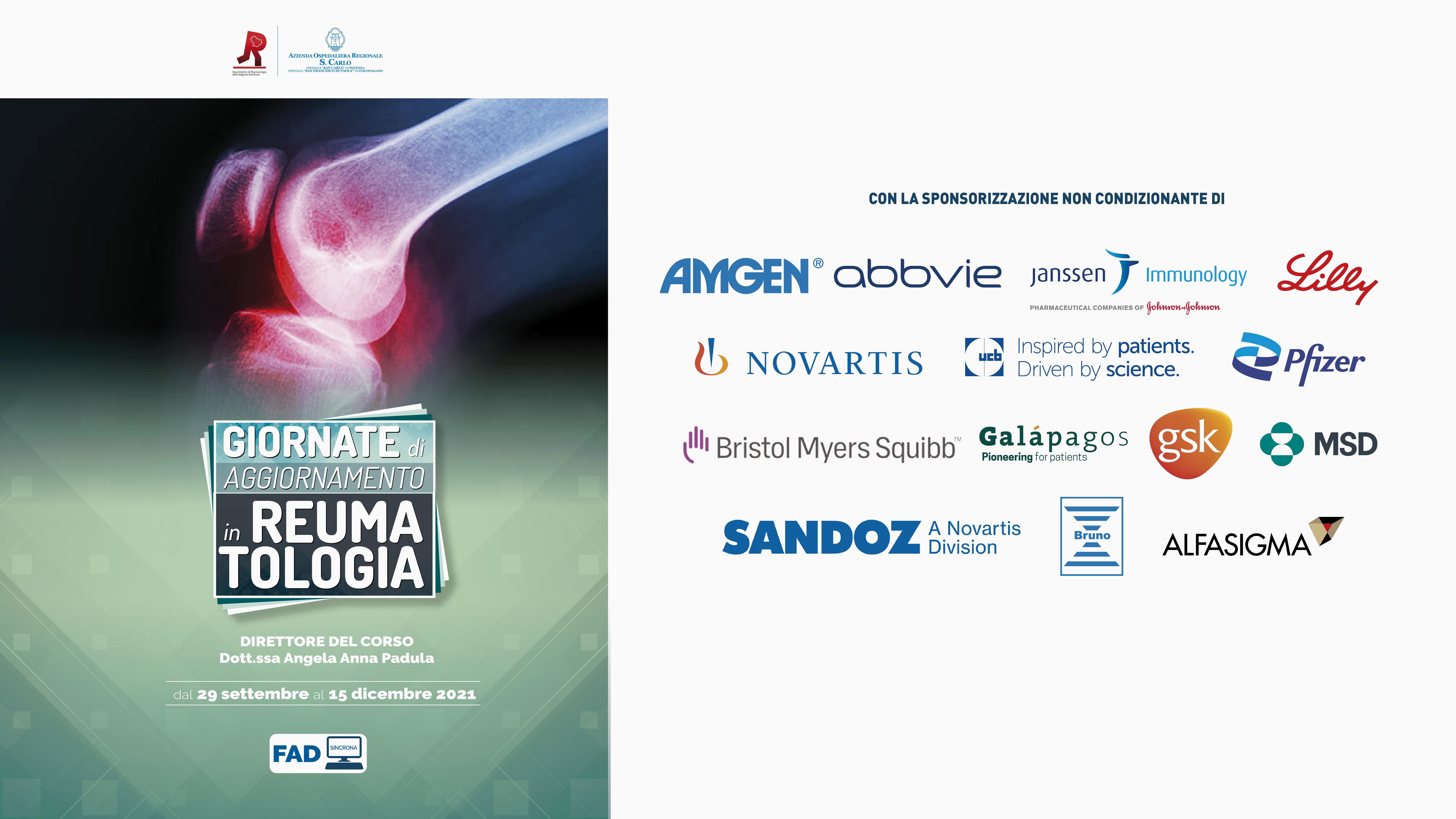 Course Image GIORNATE DI AGGIORNAMENTO IN REUMATOLOGIA
